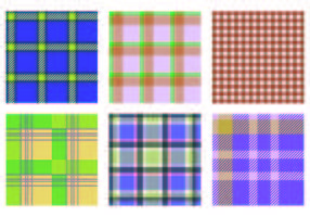 Vector Flannel Patterns