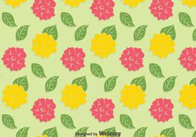 Yellow And Pink Petunia Pattern Background vector