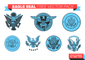Eagle Seal Free Vector Pack