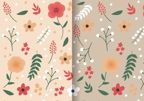 Floral Spring-Muster-Vektor