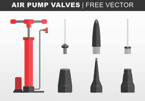 Luchtpomp Valves Gratis Vector