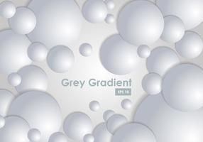 Grey Gradient Dot Background vector