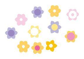 Spring Flower Vectors