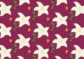 Lily Easter Background Pattern