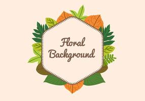 Free Leaf Background vector