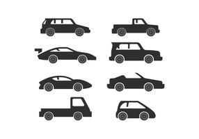Vettori di sagoma vettoriale auto