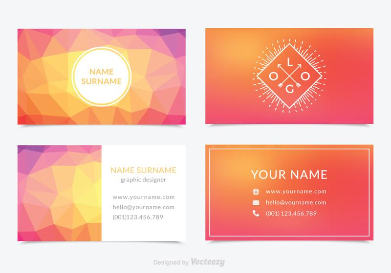 Business Card Free Vector Art Free Downloads - Business cards templates free