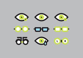 Vetor do medidor de olho