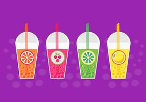 Free Bubble Tea Vector
