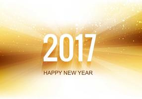 Free Vector New Year 2017 Background