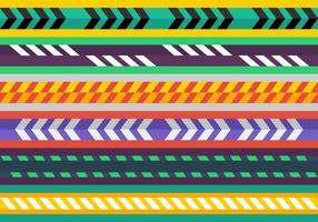 Free Colorful Caution Tape Vectors