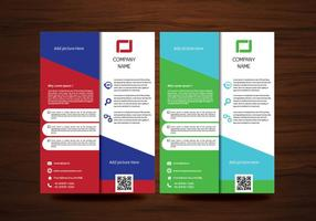 Vector Brochure Flyer ontwerp lay-out sjabloon in A4-formaat