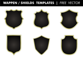 Wappen & Shields Templates Vector