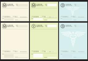 Medical Prescriptions vector