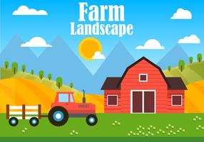 Gratis Farm Vector Illustration