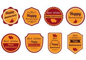 Joyeux anniversaire Stamp Vecteur