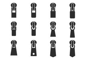 Free Zipper Pull Vector