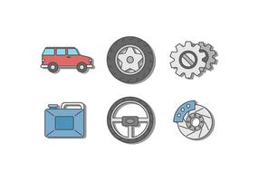 Car Repair Vectors