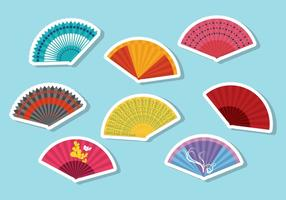 Gratis Spaanse Fan Vector