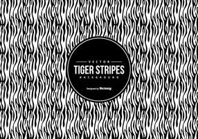 Black / White Tiger Pattern Background