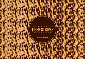 Orange/Black Tiger Pattern Background