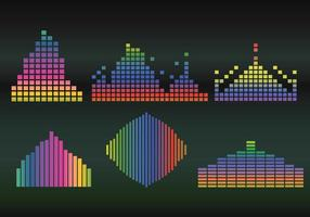 Sound bar vector gradient