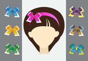 Cinta del pelo en la cabeza femenina