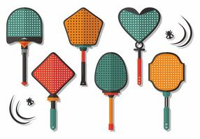 Fly Swatter Vector Design