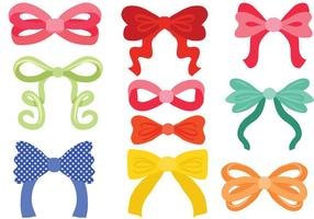 Free Hair Ribbon Vectors
