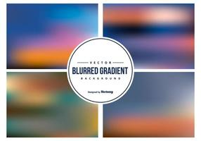 Colorful Blurred Backgrounds Collection vector