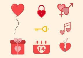 Vectores Valentine planas