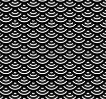 Vector Scales Seamless Pattern