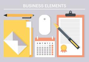 Vector Free Business Elements