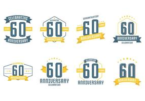 60th Anniversary Symboler