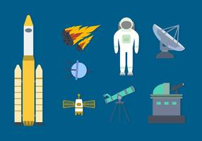 Espacio libre Colección del vector