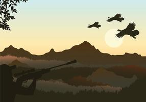 Wild Turkey Shoot Free Vector