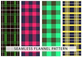 Flanell Seamless Vector Mönster