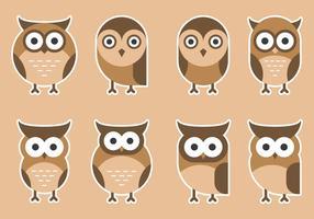 Färgrik Gullig Owlsnågot
