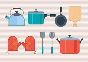 Cocina vektor ikoner uppsättning