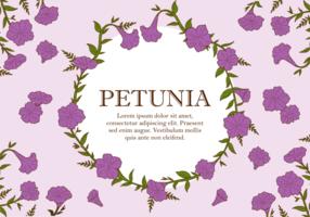 Vecteur Pétunia Plante