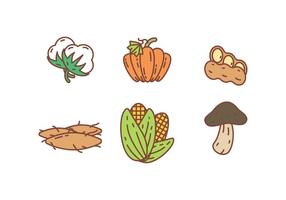 Gratis Unieke Crop Icons Vectors