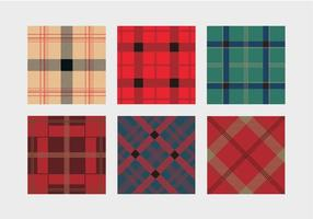 Flanelle Colorful Motif Vector