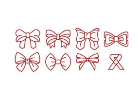 Ribbon Vector Icons