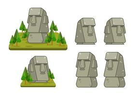 Easter Island Vector Illustration