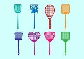Free Fly Swatter Vector Icons