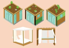 Moderne et Cabana Beach Vector Pack