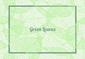 Seamless Pattern Background Of Green Leaves vector
