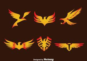 Eagle Seal Vector Set