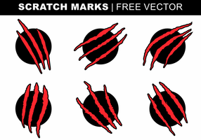 Scratch Marks Free Vector
