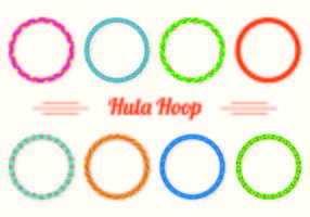 Set Of Hula Hoop icons